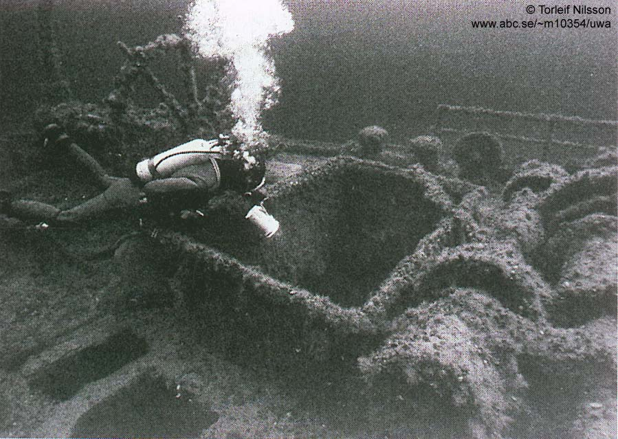 Diving the E-19 Wrecks